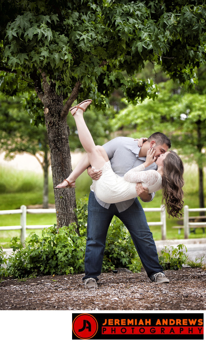 Fun Engagement Photographer In North Idaho