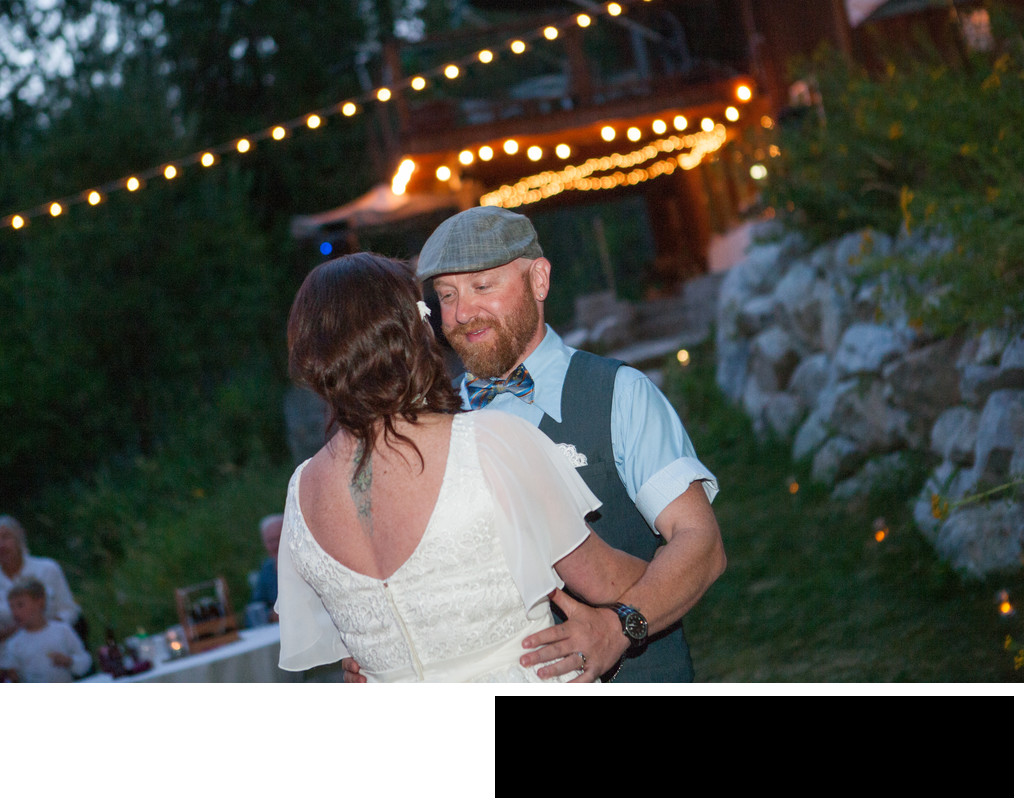 first-dance-wedding-summer-night-forest-candlelight