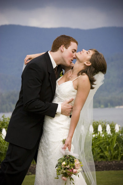Romantic Wedding Images In Hayden Idaho