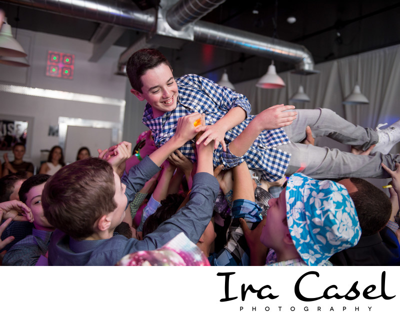 Pine Brook Jewish Center Bar Mitzvah Photographer