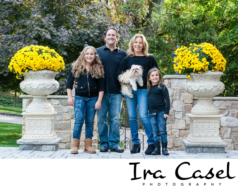 New Jersey Family Portrait Photographer in Livingston