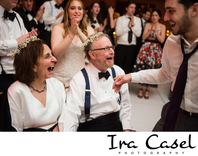 Jewish Wedding Photography at Temple Emanuel Closter
