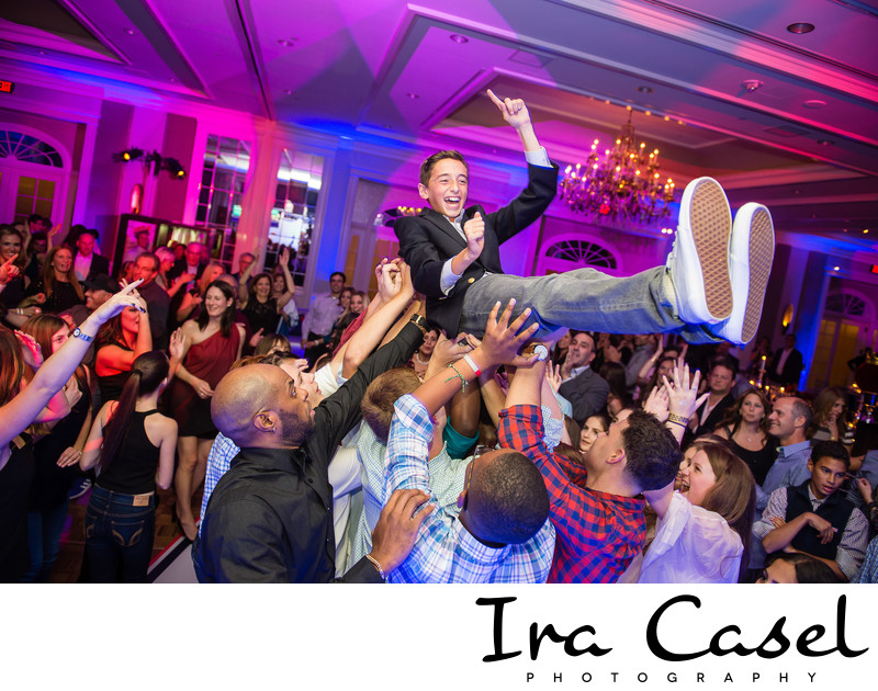 Bar Mitzvah Photographer - Hilton Short Hills