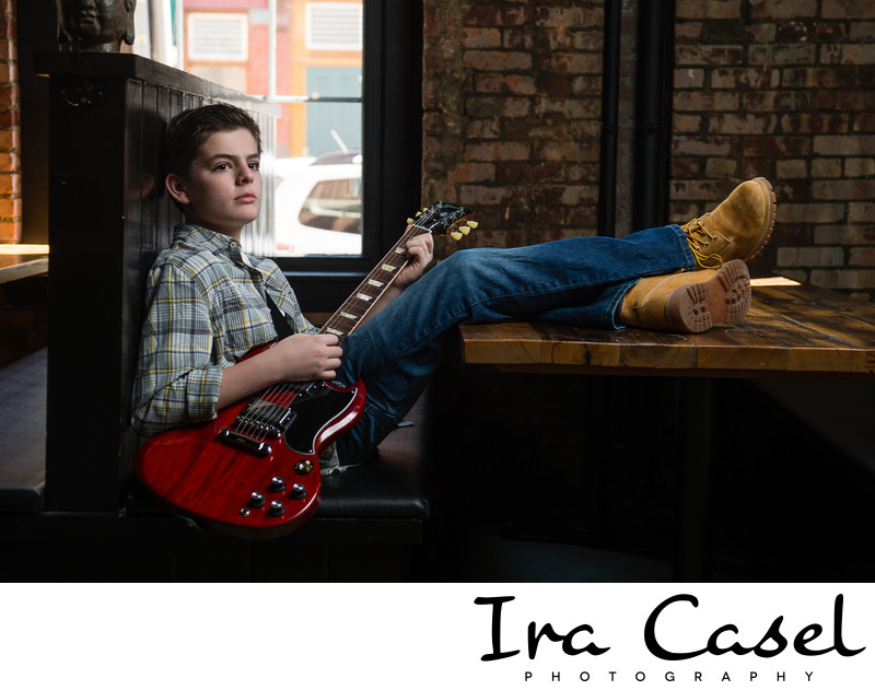 NYC Bar Mitzvah Photographer Pre-Mitzvah Portrait Shoot