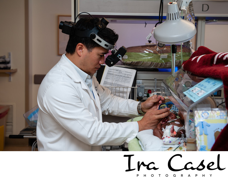 Neonatal Healthcare Photographer