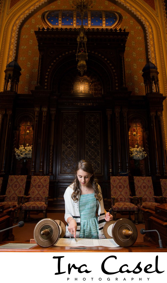NYC Bat Mitzvah Photographer for Central Synagogue