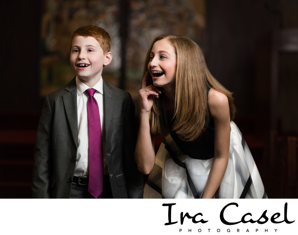 Candid Bat Mitzvah Photographs