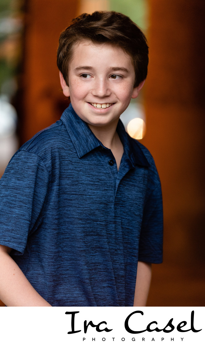 South Orange Pre-Bar Mitzvah Portrait Photographer