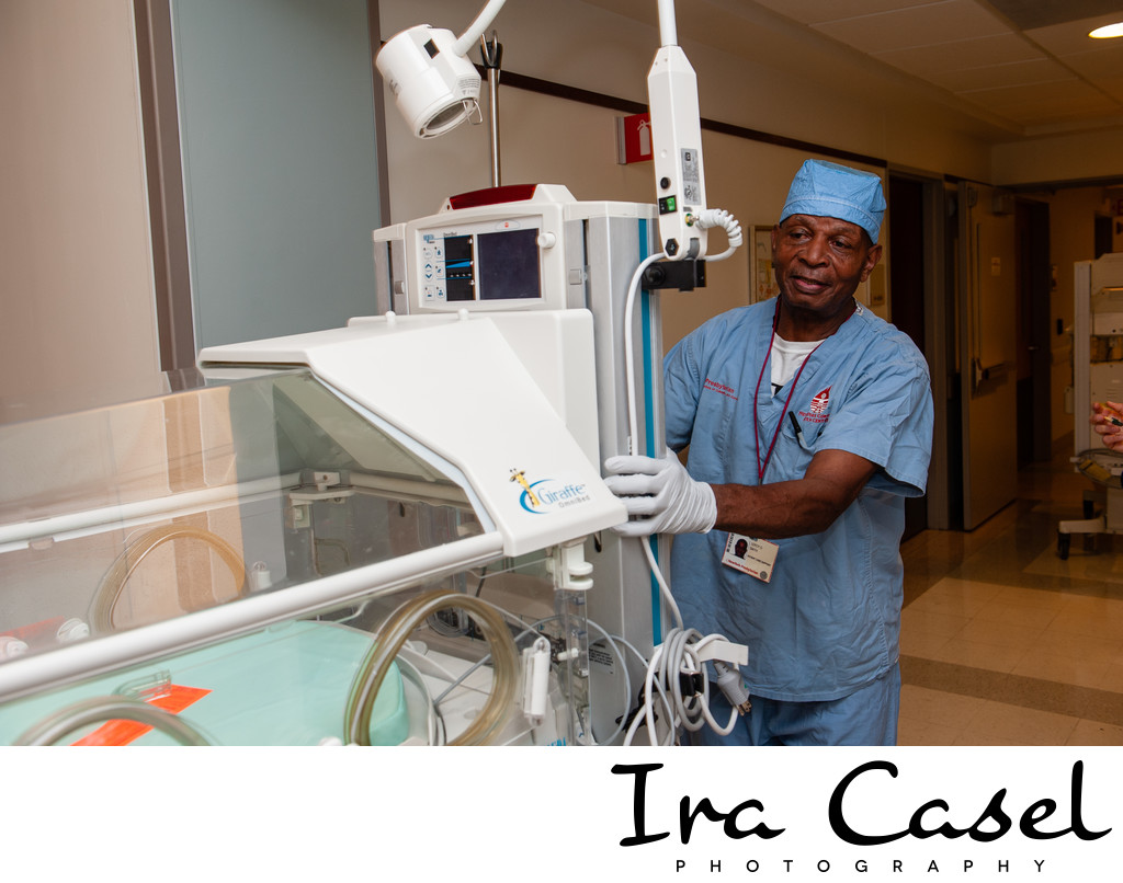 Photography of hospital staff
