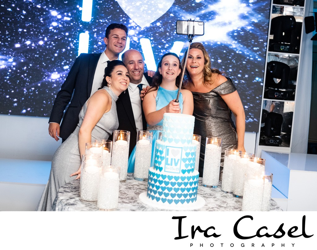 Bat Mitzvah Photographer - Candle Lighting