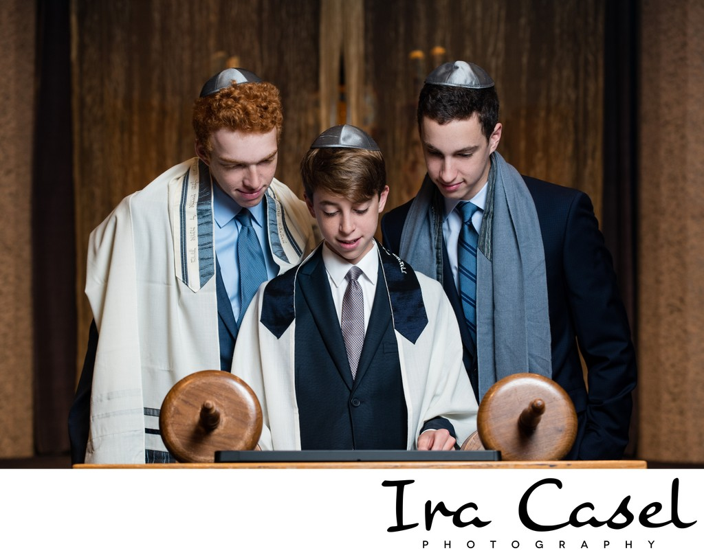 Westfield Bar Mitzvah Photographer - Temple Portraits