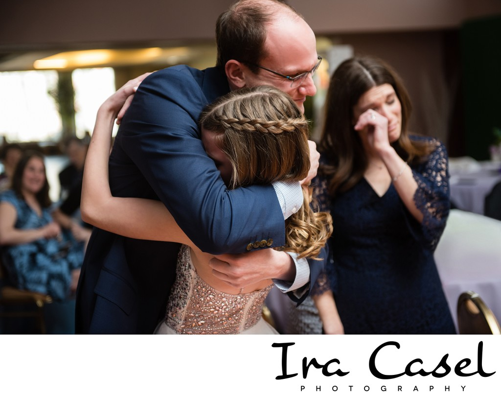 Emotional Bat Mitzvah Photography