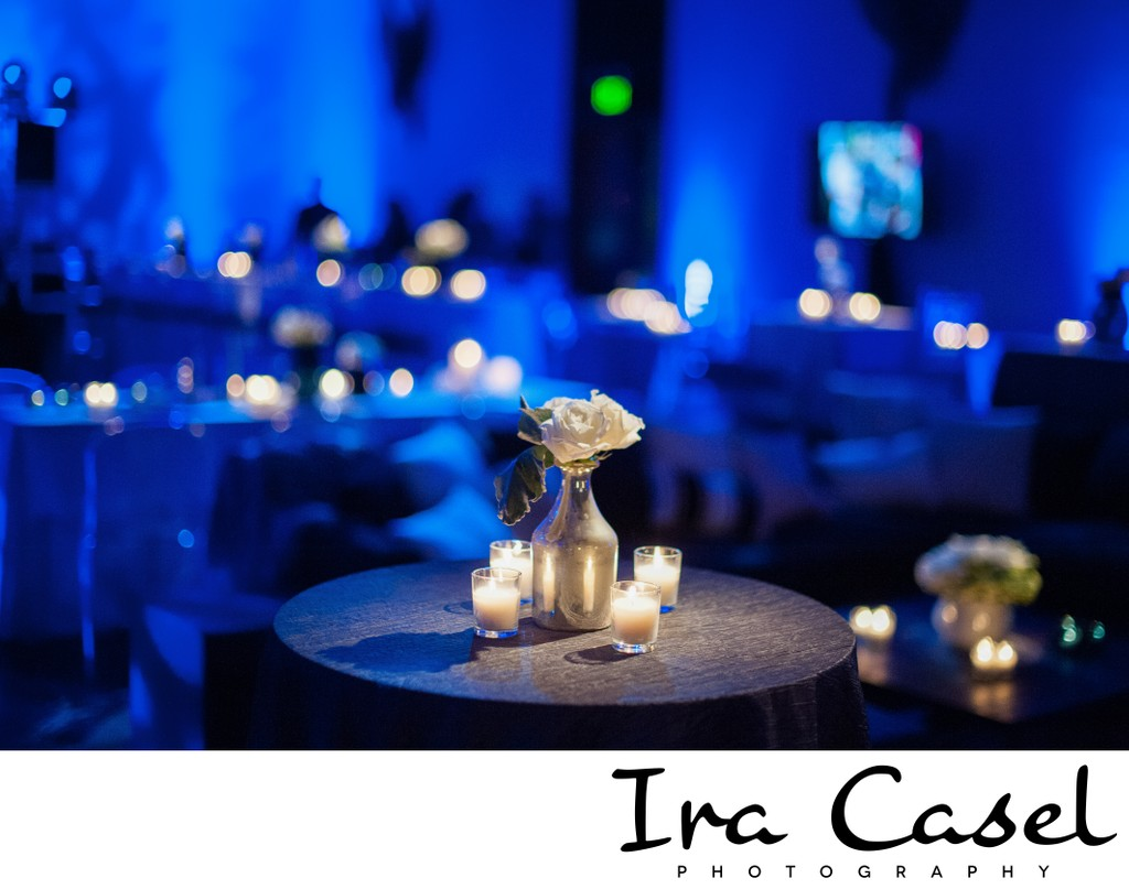 Blue and White Bar Mitzvah Theme