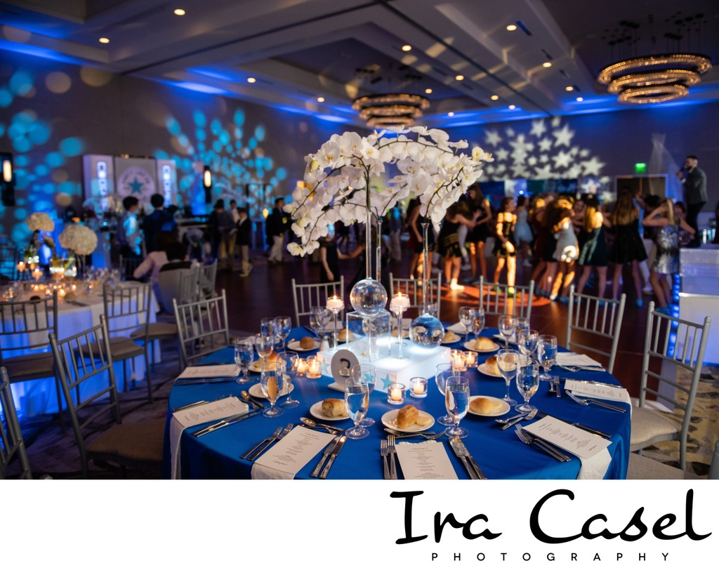 Mitzvah Decor Room Shot Embassy Suites Berkeley Heights