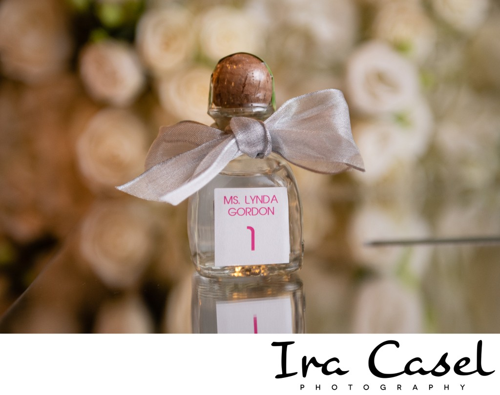 Incredible Place Card - Mini Patron Bottle