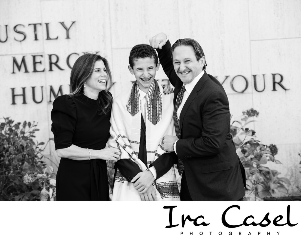 Best black and white bar mitzvah temple portraits