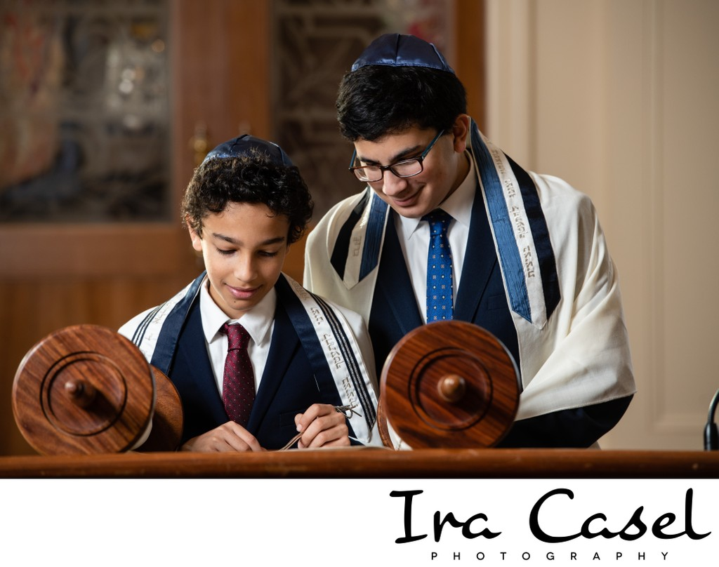 Temple Sinai Summit Bar Mitzvah Boy