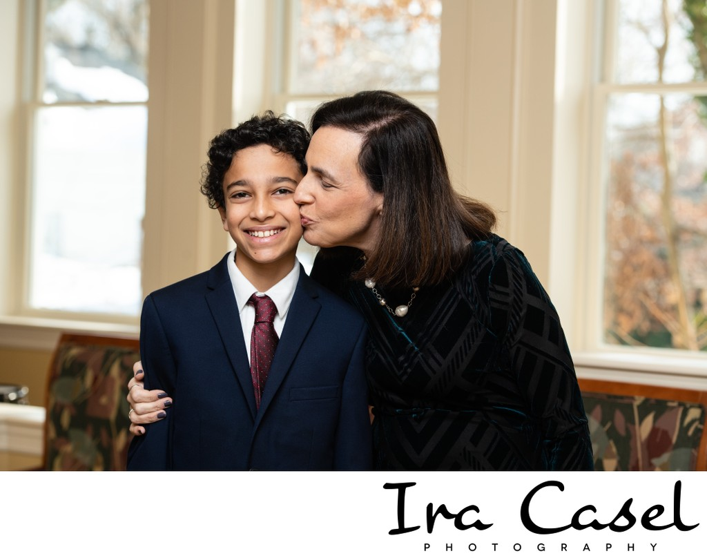 Bar Mitzvah Photography in Summit New Jersey Temple