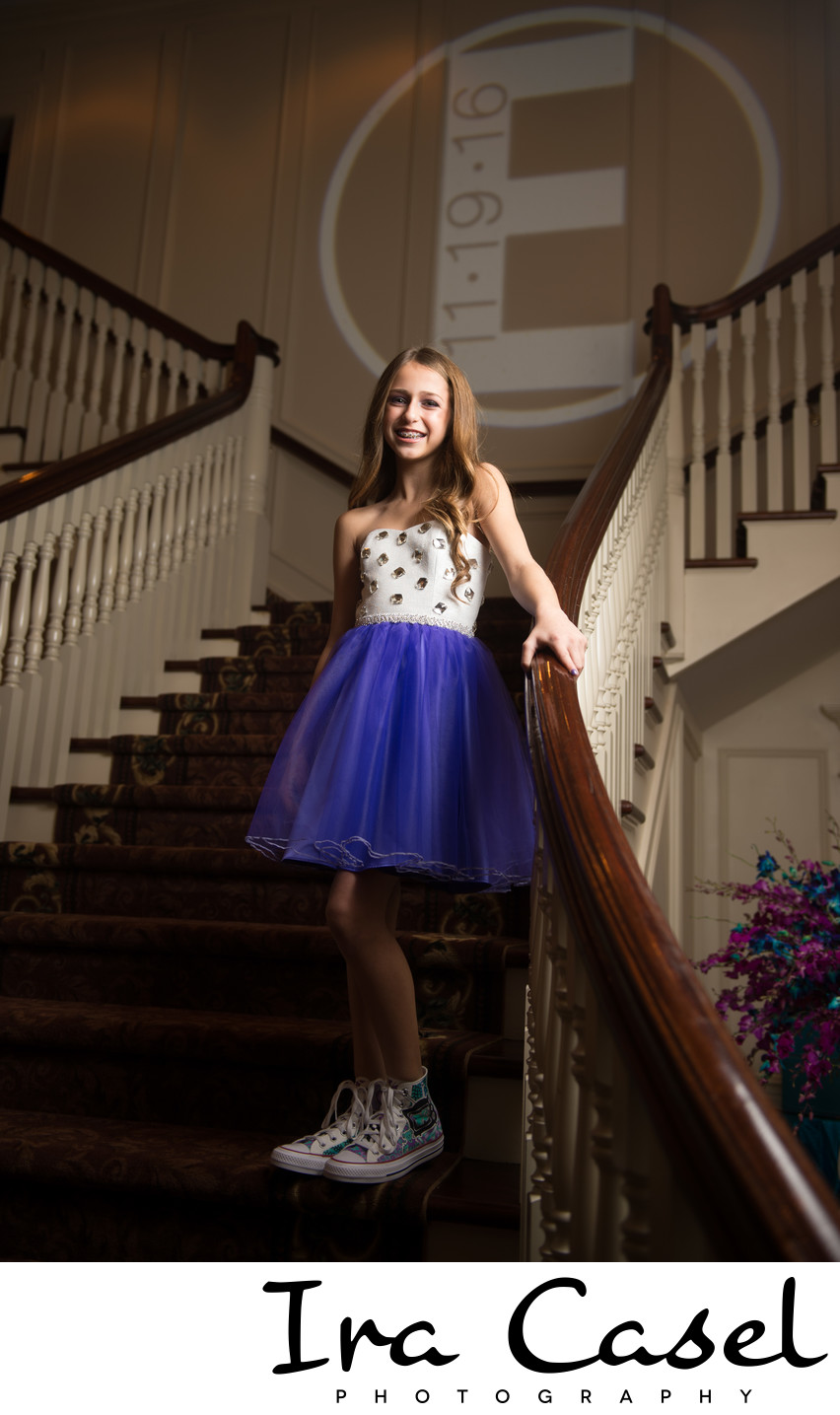 Bat Mitzvah Photographer for Meadow Wood Manor