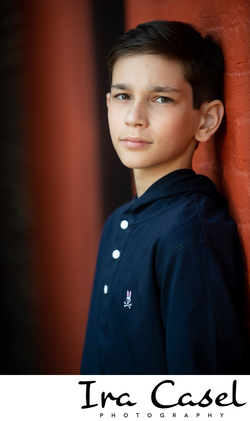 Pre-Bar Mitzvah Portrait Photographer NJ