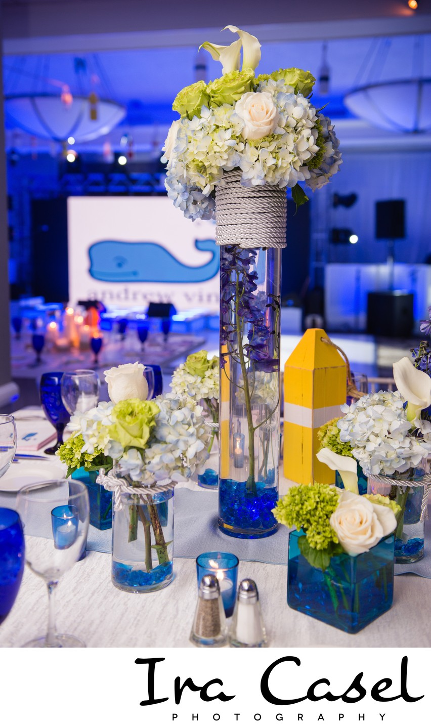 Beach Theme Vineyard Vines Bar Mitzvah