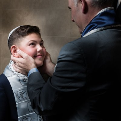 Best Emotional Bar Mitzvah Photography