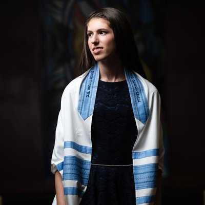 Bat Mitzvah Temple Portrait Photographer