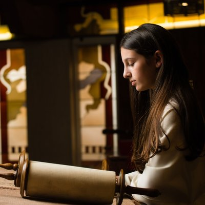 Bat Mitzvah Photography: Torah Reading