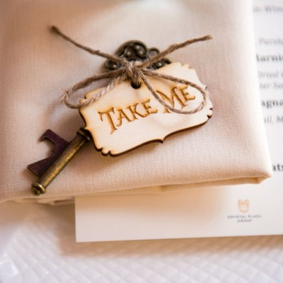 Creative Bat Mitzvah Place Cards