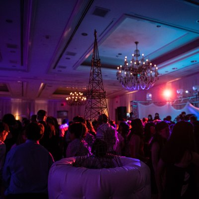 Paris-Themed Bat Mitzvah Party at Hilton Short Hills