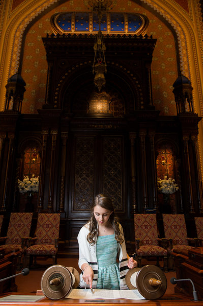 NYC Bat Mitzvah Photographer-Bimah-Central Synagogue
