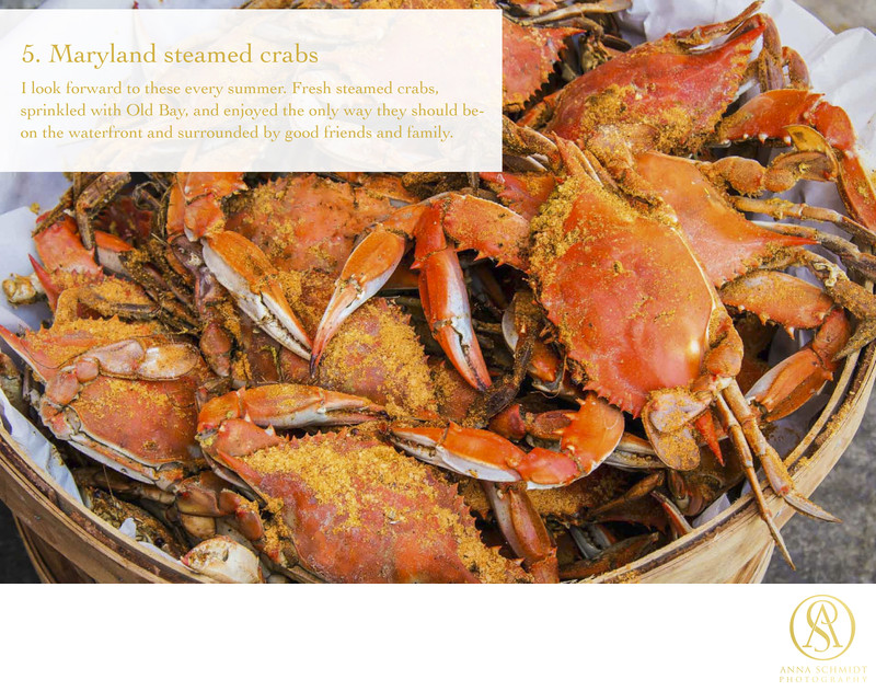 Favorite Things Maryland Steamed Crabs