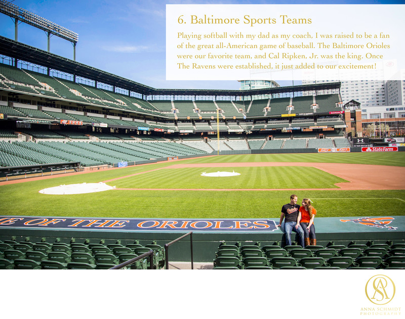 Favorite Things Baltimore Sports Teams