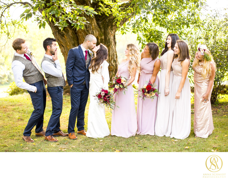 Briar Patch Middleburg Wedding Bridal Party