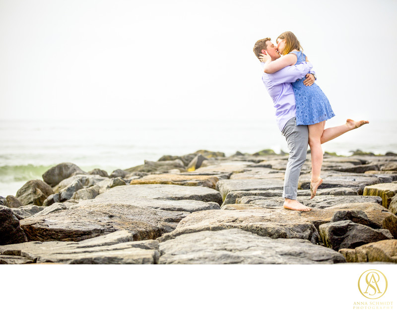 Beach Engagement Ocean City Maryland