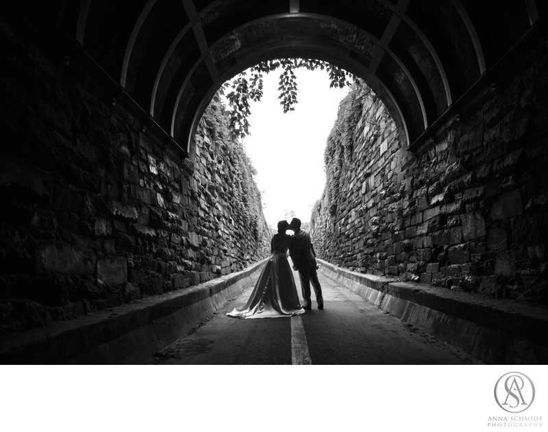 Wilkes Street Tunnel Wedding Portraits
