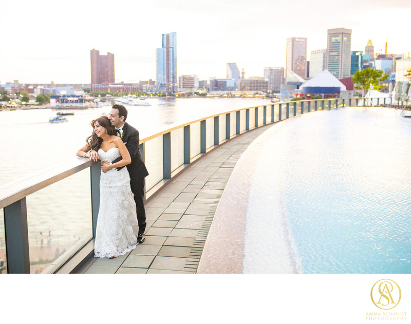 Four Seasons Baltimore Wedding Photographer