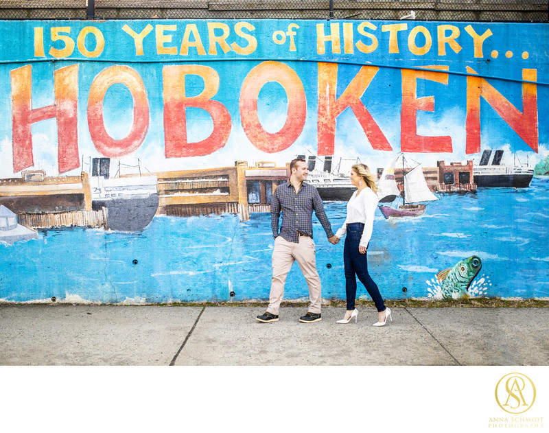 Hoboken NJ Engagement Photos