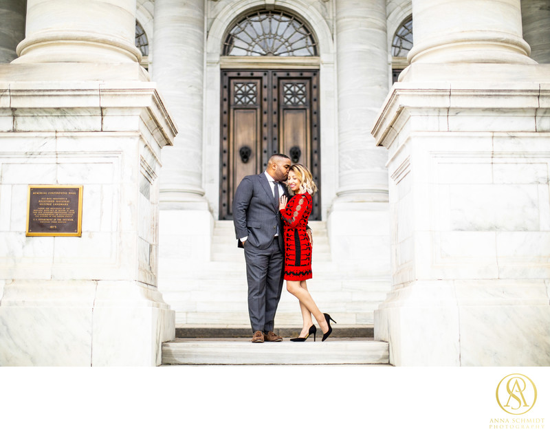 DC Memorial Engagement Photos