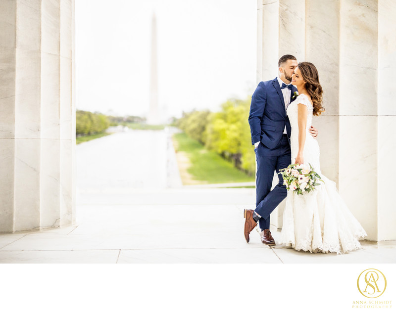 Lincoln Memorial Wedding Photos