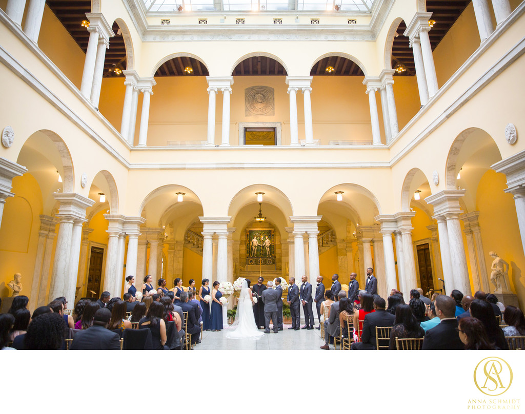Walters Art Museum Baltimore Wedding