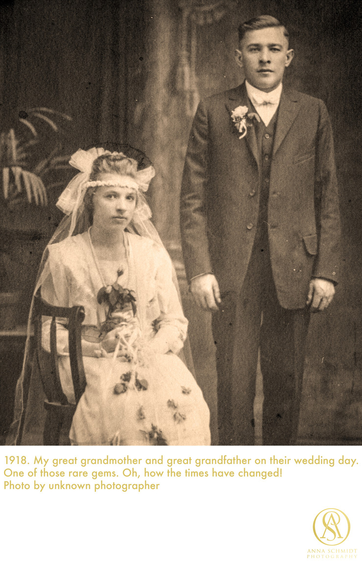 great grandmother wedding