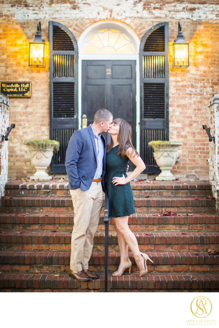 Charming Downtown Middleburg Engagement