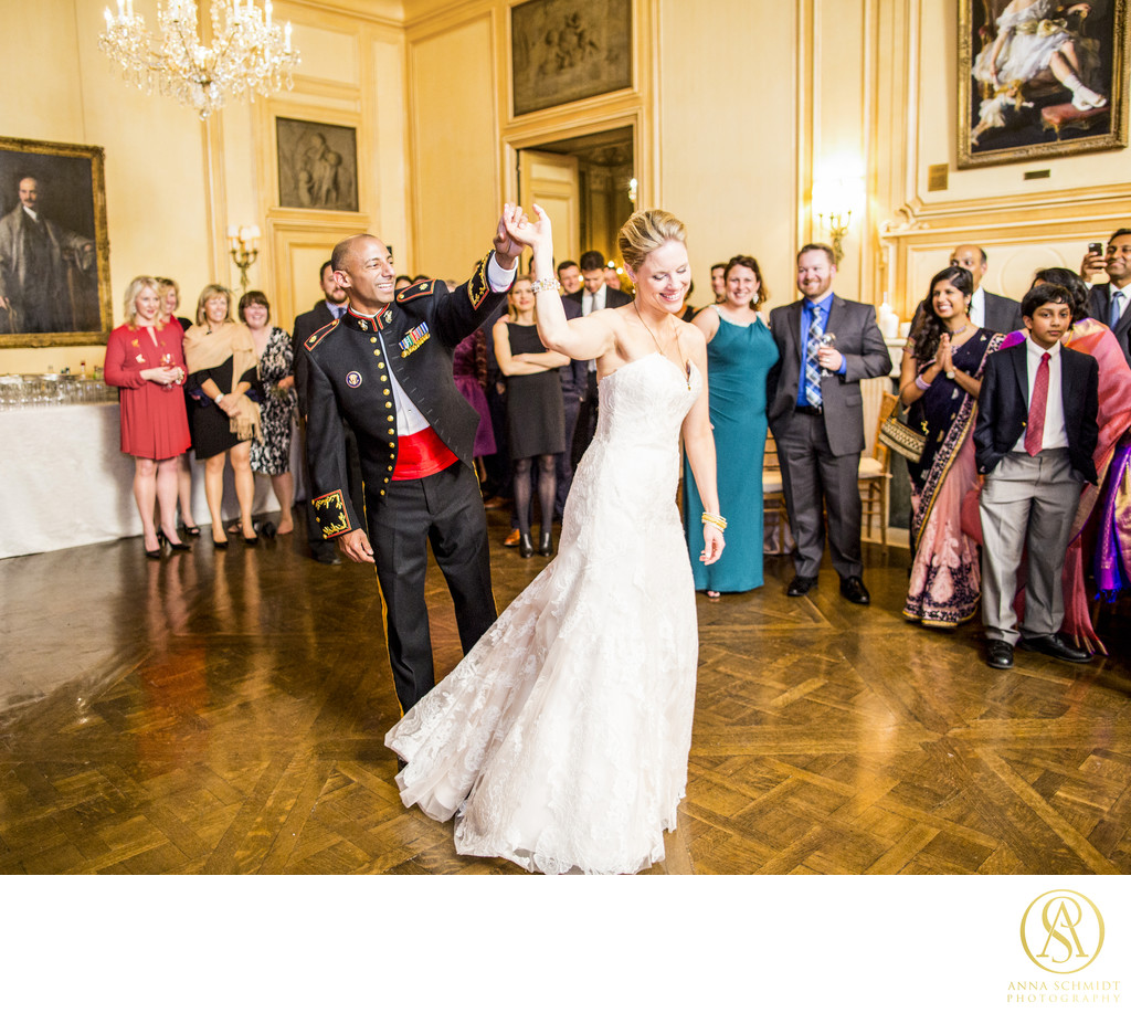 Meridian House Wedding