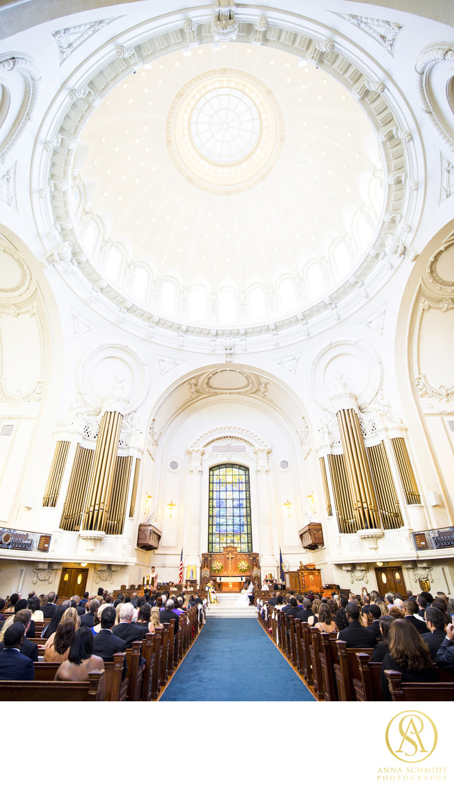Naval Academy Chapel Wedding