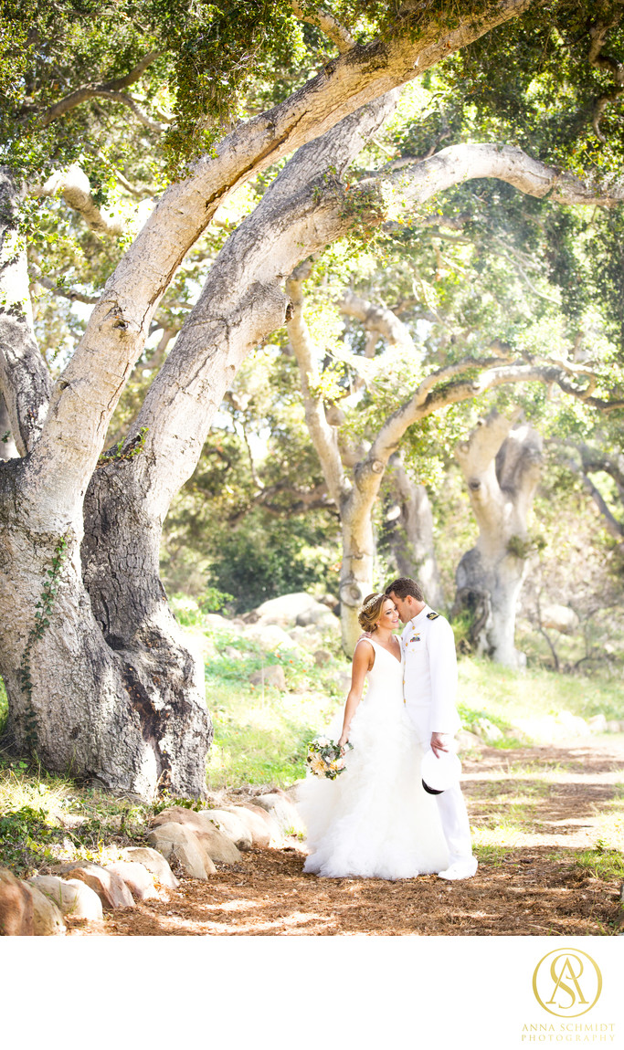Santa Barbara Wedding Portraits