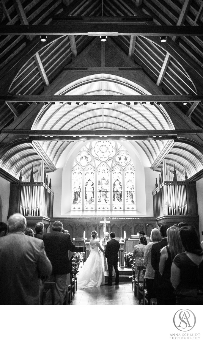 Dahlgren Chapel Georgetown Wedding