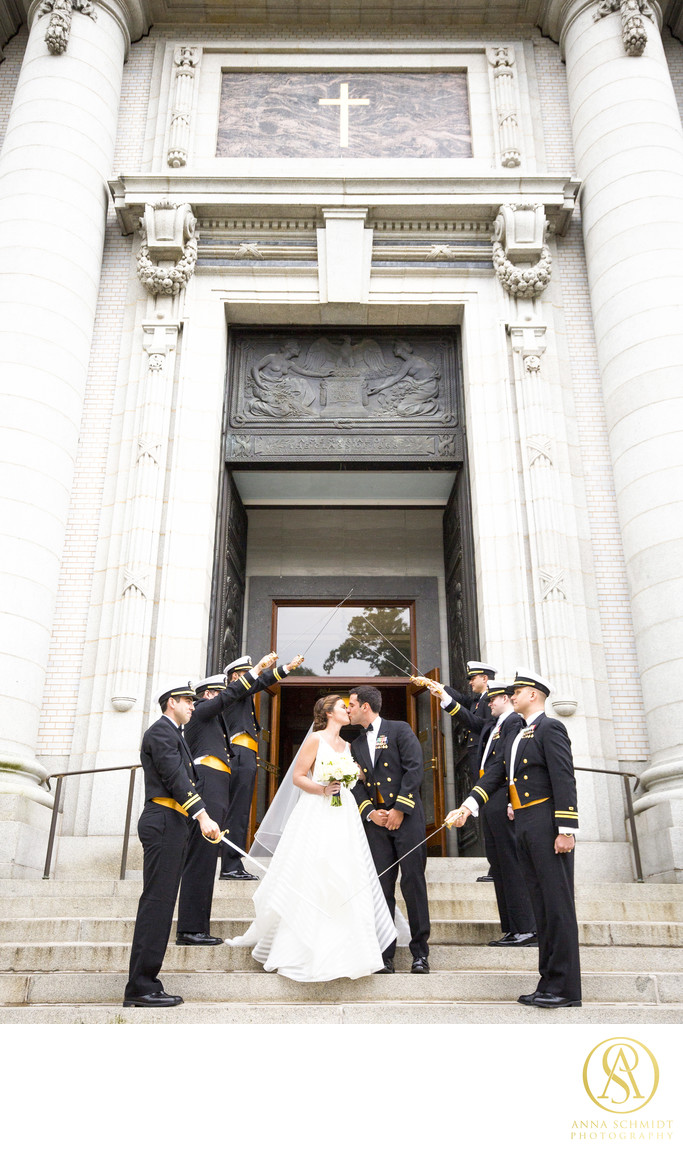 Naval Academy Wedding Sword Arch