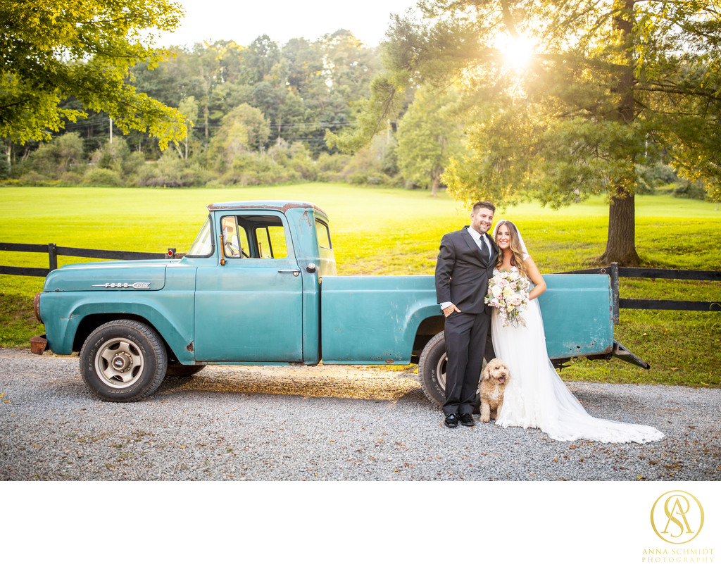 Chanteclaire Farm Maryland Wedding