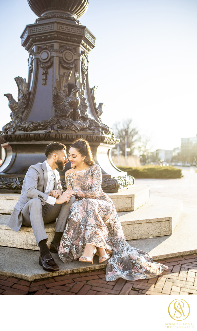 Union Station DC Engagement Photos